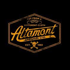 Altamont #design #logo - great colour!