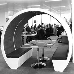 The Meeting Pod Company offers a range of pods, including escape pods, modular pods, seating pods and multi-story Hive Pods. Commercial Furniture, Packing Light, Exterior Colors, Open Plan, Flexibility, Range, Lighting, People, Lights