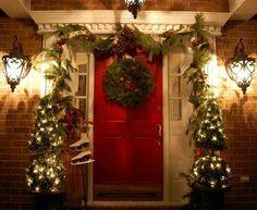 Decoración de Navidad 2012 2013 para exteriores