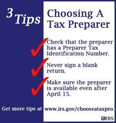 internalrevenueservice: Choosing a Tax... | CB Tax Professionals