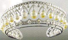 Tiara de la corona Imperial Rusa