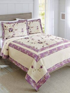 Aqua Looped Trellis Pintuck Bedding Comforter Set from Better