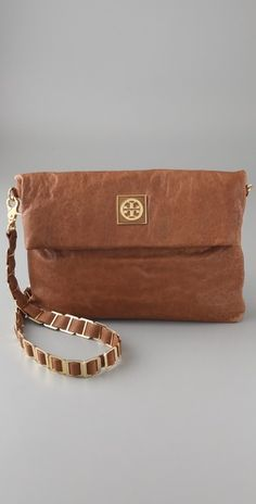 Not usually a big fan of TB bags, but this bag can be worn cross-body and as a clutch.  It's effortlessly chic.