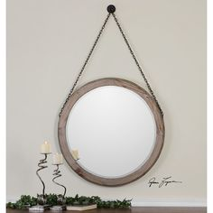 Found it at Wayfair - Loughlin Wall Mirror