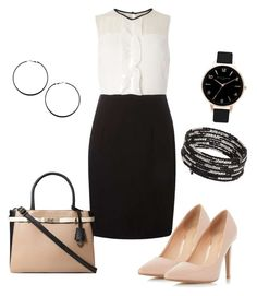 """""""OOTDW-97 by Katie"""" by katie-xdress-morgan ❤ liked on Polyvore featuring Dorothy Perkins and Olivia Burton"""