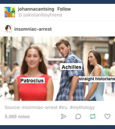 The Song of Achilles - more like homophobic historians