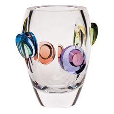 Moser Crystal Galaxy Vase