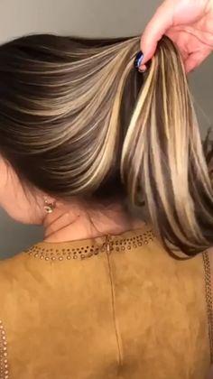 Haircuts For Long Hair, Trendy Hairstyles, Straight Hairstyles, Rebonded Hair, Hair And Beauty, Brown Hair With Blonde Highlights, Blonde Hair, Best Hair Straightener, Hair Growth Oil