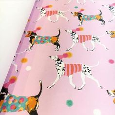 Introducing Party Dogs from @louisetiler available in flat wrap in our winter range. Pre-order now for delivery in July!