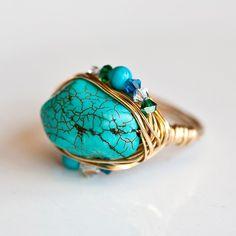 handmade cocktail ring