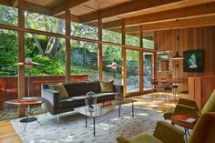 Attractive Mid Century Furniture home remodel Midcentury Living Room San Francisco