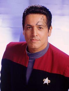 Star Trek: Voyager Robert Beltran as First Officer Chakotay. Yep, half the reason I'm a Trekkie right there.