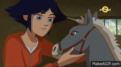 via makeagif Le Ranch, Horse Animation, Makati, Horse Art, Entertainment, Horses, Fantasy, Cartoon, Animals