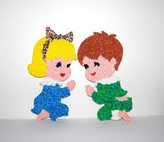 Vintage Popcorn Kids Wall Decor by ChristmasVintage on Etsy, $21.50