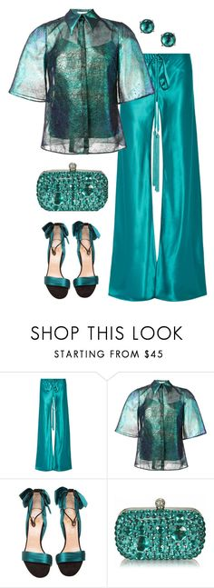 """Take me home tonight"" by stephanielee4 ❤ liked on Polyvore featuring Roberto Cavalli, Delpozo, Christian Louboutin and Ippolita"