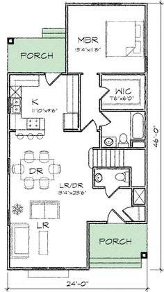 Master-Down Queen Anne - 10046TT   Architectural Designs - House Plans