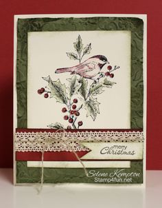 Stamp 4 fun with Selene Kempton: 10/25 Stampin' Up! Beautiful Season ~ 25 Days of Christmas Day 2
