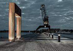 Södra hamnen | Residential area - BEGA bollard and spotlight | ateljé Lyktan