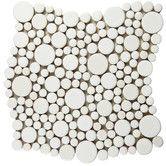 Found it at Wayfair - Posh Bubble Random Sized Porcelain Glazed Mosaic in White