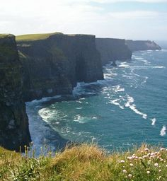 ahhh i wanna go back.  the most amazing place i have ever been to!!! Cliffs of Moher, Ireland :)