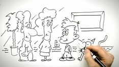 Gone are those days when doodling was only for the kids. If you want to touch your artistic side, these simple and easy doodle art ideas to try. Easy Doodle Art, Cool Doodles, You Doodle, Simple Doodles, Doodle Drawings, Drawing Sketches, Sketching, Middle School Crafts, Doodle Images