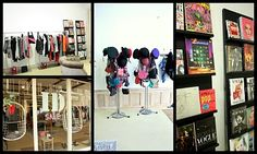 ID, a shop in Haarlem with fashion, vintage, books and more (schagchelstraat 7) http://www.idimagestyling.nl/