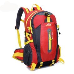 afc3528b967d Outdoor Mountaineering Backpack Hiking Camping Waterproof Nylon. Travel  BackpackBackpack BagsCycling ...