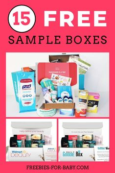 15 Free Sample Boxes - Legit Free Samples for Moms <br> Huge list of 15 free sample boxes. Legit free samples by mail like; free baby stuff, makeup samples, free food, health + beauty samples, more. Free Samples Without Surveys, Free Baby Samples, Free Samples By Mail, Free Makeup Samples, Stuff For Free, Free Stuff By Mail, Free Baby Stuff, Free Sample Boxes, Freebies By Mail
