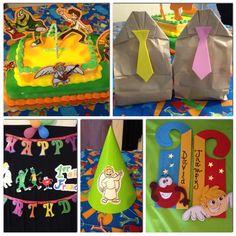 Atención Atención Birthday Party.