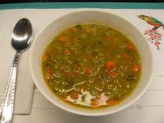 Super Simple Vegan Split Pea Soup