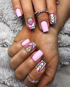 Best Nails Ideas for Spring 2019 So cute baby pink spring nails Cute Spring Nails, Spring Nail Colors, Nail Designs Spring, Cute Nails, Summer Nails, Fun Nail Designs, Spring Nail Art, Ballerina Acrylic Nails, Best Acrylic Nails