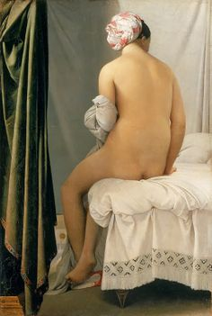 La Baigneuse, 1808  Dominique Ingres