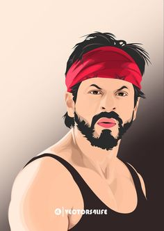 Shahrukh khan Dilwale Vector Illustration Cute Couples Photography, Boy Photography Poses, Creative Photography, Shah Rukh Khan Movies, Shahrukh Khan, Best Painting Ever, Bob Marley Art, Animated Love Images, Cartoon Wallpaper Hd