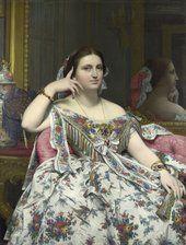 Jean Auguste Dominique Ingres Madame Moitessier Musée d'Orsay Spectaculaire Second Empire Exhibition, 1852-1870