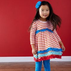 Back-to-School Looks for the Perfect Picture Day: A cute dress  #zulilyfinds #BackToSchool