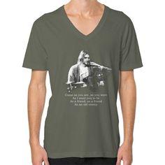 Kurt cobain come as you are V-Neck (on man)