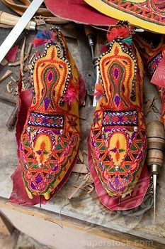 I have these shoes! Hand made in the desert! Girls shoes, Libya