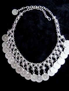 Turkish Jangling Coin Gypsy Necklace