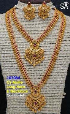 Fulfill a Wedding Tradition with Estate Bridal Jewelry Gold Jewelry Simple, Gold Jewellery Design, Bridal Jewelry, Mango Necklace, India Jewelry, Jewelry Sets, Necklace Designs, Gold Necklaces, Siri