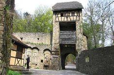 Nördlicher Zugang zur Burg Hornberg