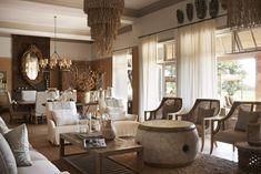 More safari home decor. (Singita Serengeti House in Tanzania.)