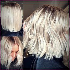 Hair Color Trends 2018 Highlights : Blonde balayage long hair cool girl hair Lived in hair colour Blonde br blonde hair styles Hair Color Trends 2018 - Highlights : Blonde balayage, long hair, cool girl hair ✌️ Lived in hair colour Blonde br Balayage Long Hair, Balayage Straight, Ash Blonde Balayage Short, Balayage Bob Blonde, Blonde Blunt Bob, Blonde Highlights On Dark Hair Short, Short Blonde Bobs, Ombre Hair Bob, Highlighted Blonde Hair