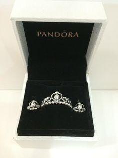 Pandora Princess Ring and matching Earrings available at Benson Diamond Jewelers. https://www.facebook.com/BensonDiamondJewelers