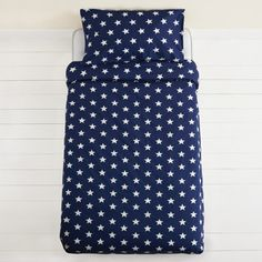 Navy Star Duvet Cover Set - Toddler  | Great Little Trading Company
