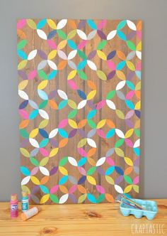 colorful diy art