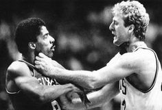 Dr. J vs Larry Legend
