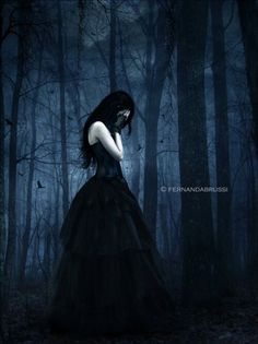 ___╋ I love Gothic ╋___ Dark Fantasy Art, Dark Gothic Art, Fantasy Kunst, Dark Art, Goth Beauty, Dark Beauty, Arte Horror, Horror Art, Lauren Kate