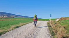 My lifelong dream is to walk the Camino The Camino, Google Images, Backpacking, Walking, Country Roads, Europe, Mountains, Places, Travel