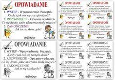 Polski - baśń Polish Language, School Notes, Writing Tips, Kids And Parenting, Study, Education, Learning, Image, Criminal Law