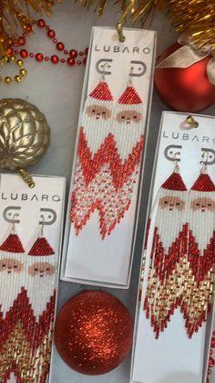 Seed Bead Jewelry, Bead Jewellery, Seed Beads, Diy Seed Bead Earrings, Statement Earrings, Hoop Earrings, Beaded Earrings Patterns, Beading Patterns, Beading Tutorials